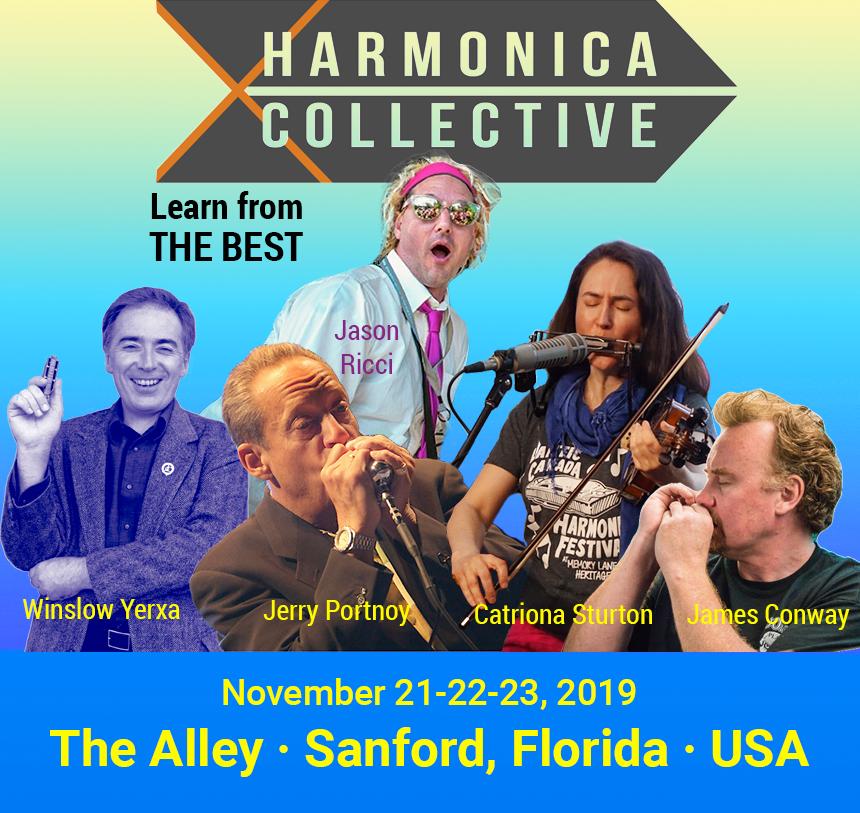 2019 Harmonica Collective Banner
